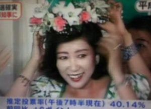 小池百合子が若い頃の画像が美人すぎ!大学やアナウンサー時代など昔の写真と比較!