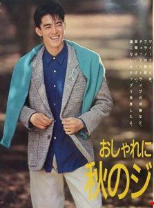 阿部寛が若い頃の画像がイケメンすぎ?昔のモデル時代やデビュー当時の写真と比較!