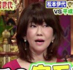 松本伊代は整形で顔が変わりすぎ?ヒアルロン酸注射で昔の若い頃からどれだけ違うか画像で比較!