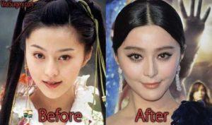 ファンビンビンの整形前と後で顔が変わりすぎ?すっぴんの目が別人なのか画像を比較!