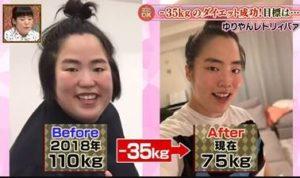 ゆりやんレトリィバァの現在は痩せたし目も二重に?ダイエットで減量する前の昔の画像と比較!